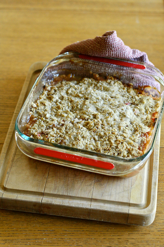 Post image for Gluten-Free Rhubarb Apple Crisp