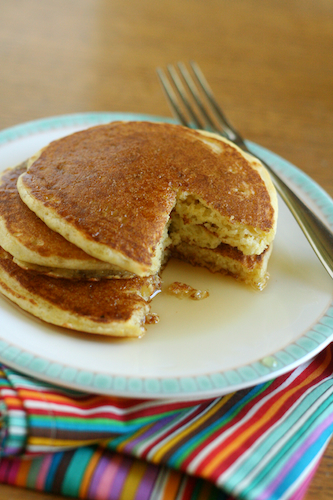 Post image for Fluffy Gluten-Free Pancakes