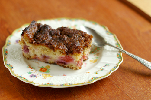Post image for Plum Quinoa Cake