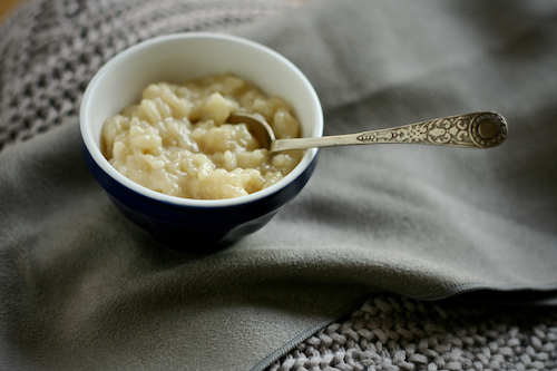 Post image for Almond-Maple Rice Pudding