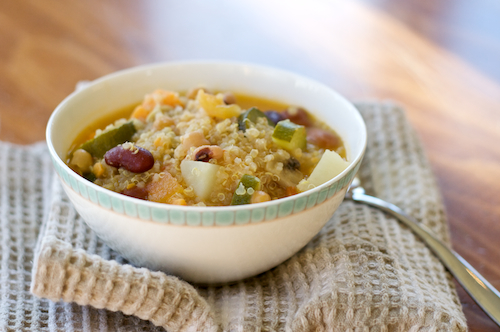 Post image for Quinoa Vegetable Soup: Share Our Holiday Table