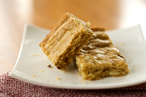 Post image for Gluten-Free Blondies. by Lauren | Celiac Teen on December 6, ...